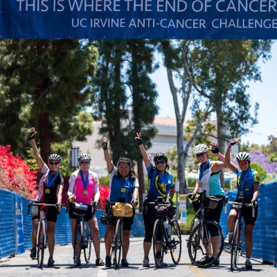 anti-cancer challenge cyclists