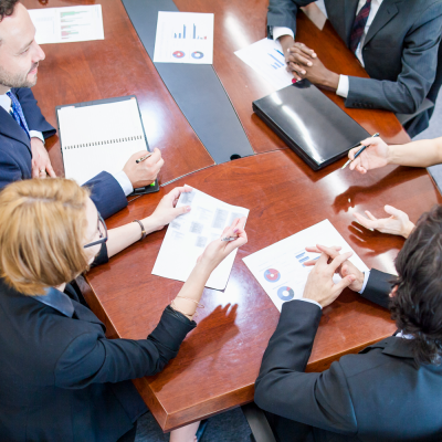 image of advisory board meeting